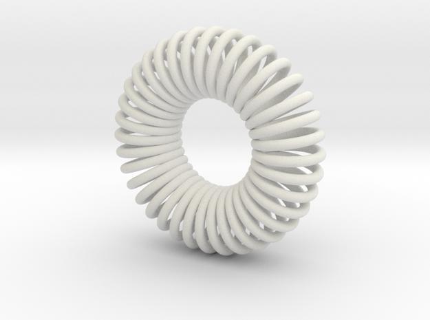 Torus Pendant 30mm 3d printed