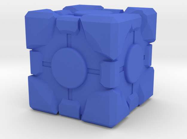 1in Companion Cube 3d printed