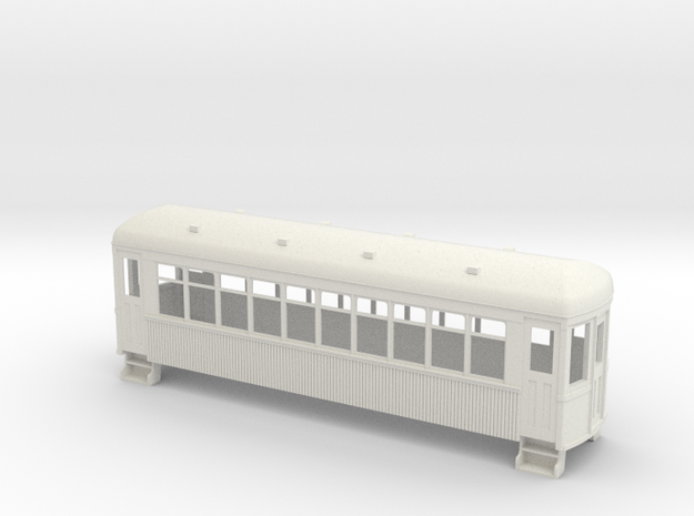 On30 trolley coach wood 3d printed