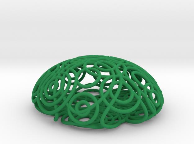 ripple brooch 3d printed