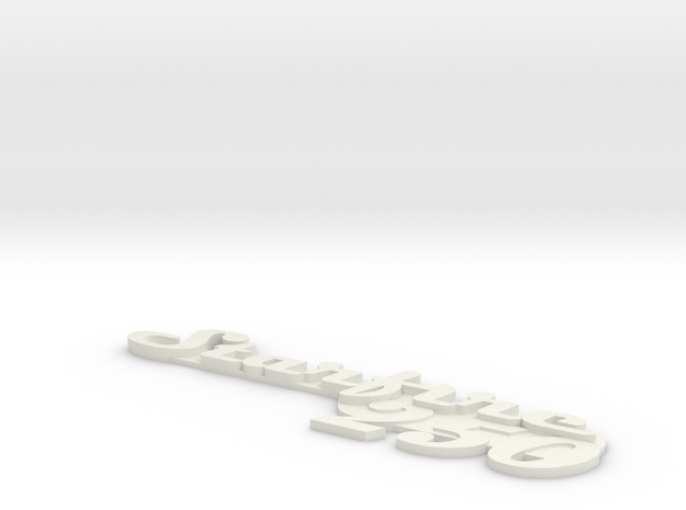 Starfire30 in White Natural Versatile Plastic