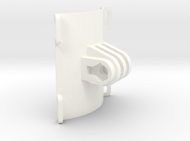 """2.25"""" clamp GoPro mount 90° 3d printed"""