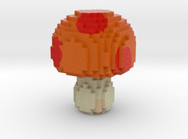 mushroom in Full Color Sandstone