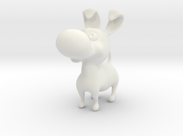 Puppy toy 4 cm 3d printed