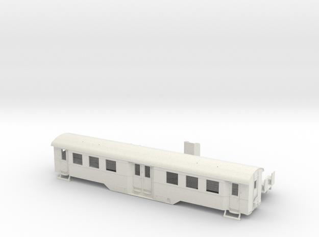 B4i der WLE in Spur H0 (1:87) mit Toilette 3d printed