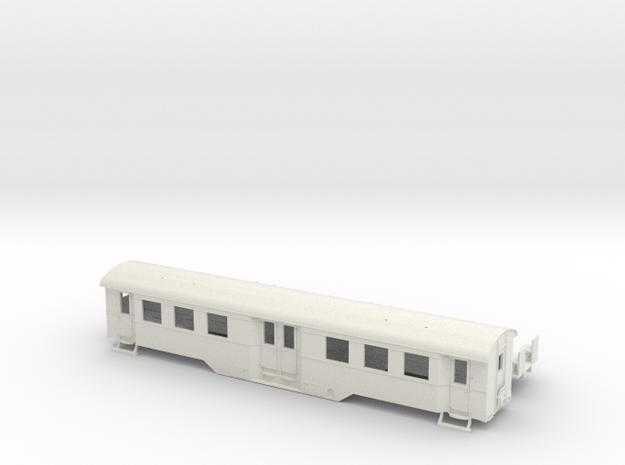B4i der WLE in Spur H0 (1:87) ohne Toilette 3d printed