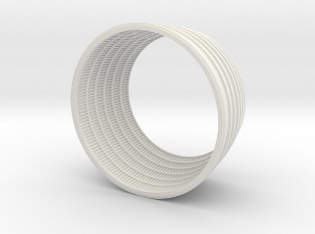 F1 3D Engine 1:25 Bottom in White Natural Versatile Plastic