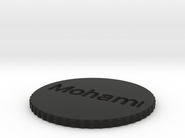 by kelecrea, engraved: Mohammed  3d printed