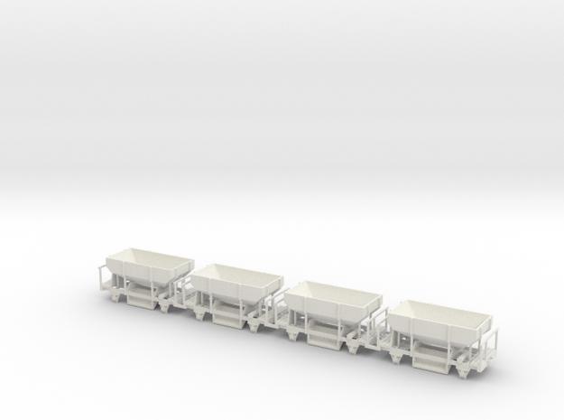 OEG Schotterwagen (4stck.) in White Strong & Flexible
