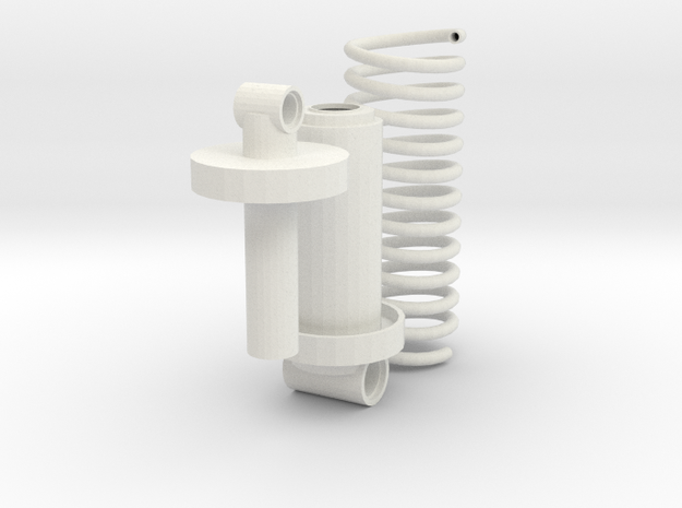 suspension shapeways (repaired) in White Strong & Flexible