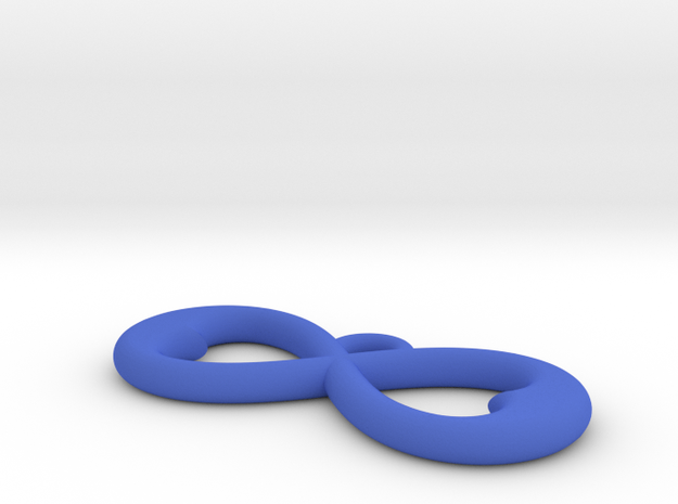 Two Hearts Infinity Symbol (small) 3d printed