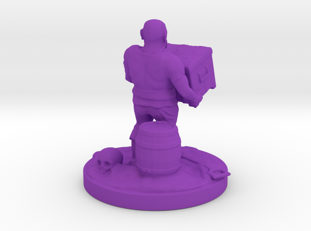 pirate socle 10cm 3d printed