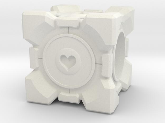 Companion Cube Pandora style Bead