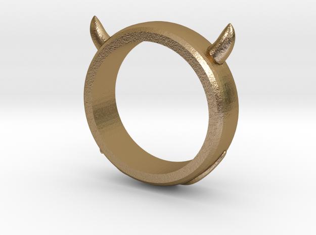 Devilish Ring - Size 12 3d printed
