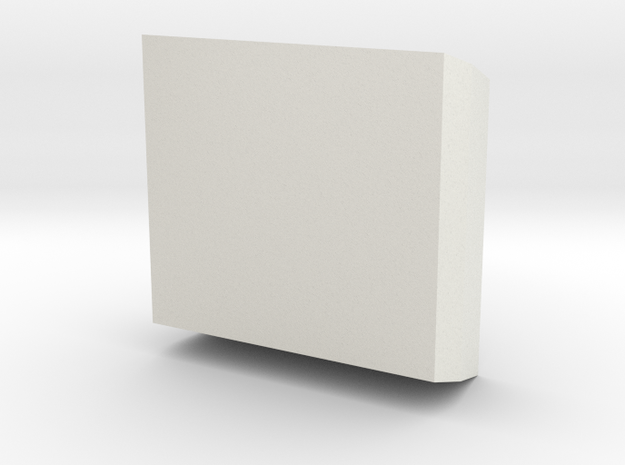 post it holder in White Natural Versatile Plastic