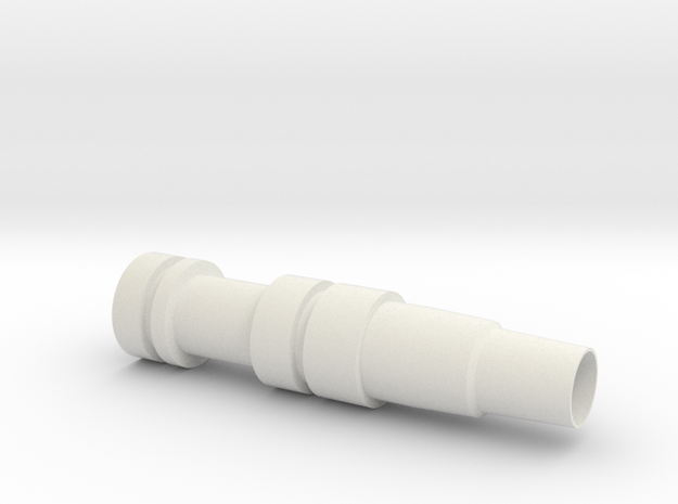 nozzle in White Natural Versatile Plastic