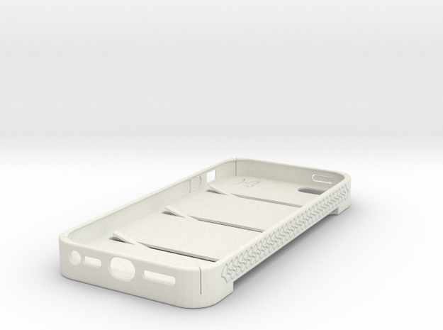 Jeremy iPhone 5 Case in White Natural Versatile Plastic