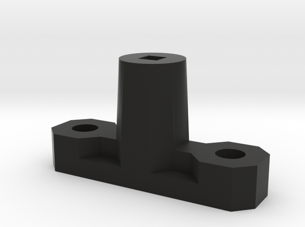 Axle to Grid Connector 3d printed