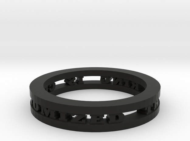 Ring 3d printed