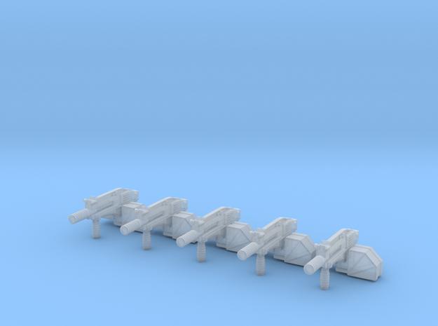 advanced gyrojet 001a suppressed squad 3d printed