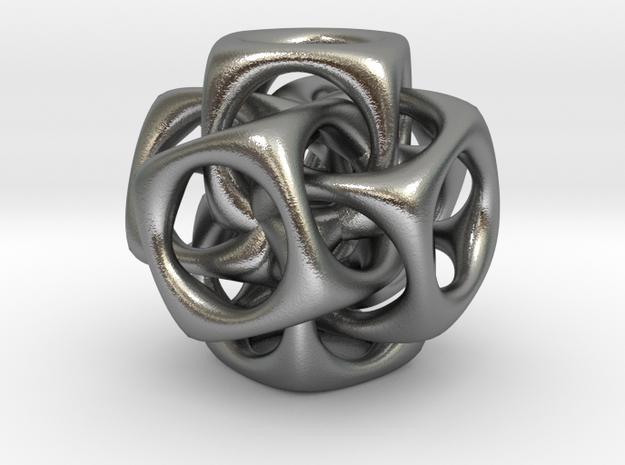 Six cubes, pendant  3d printed