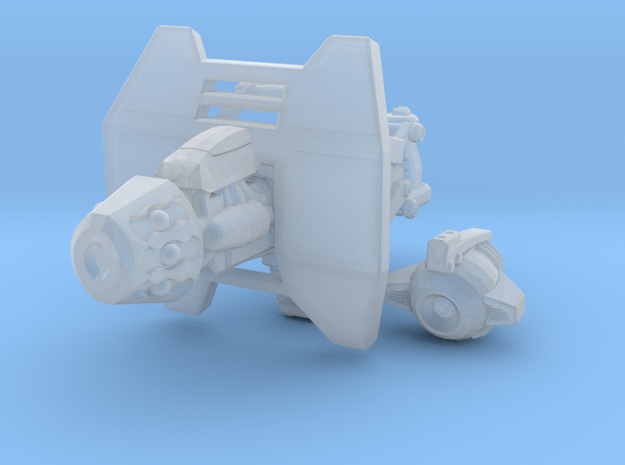 advanced plasma cannon 001a carried with sheild 3d printed