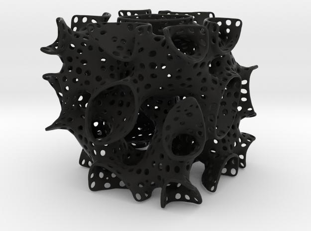 Lidinoid minimal surface 3d printed