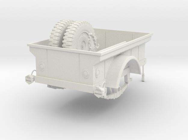 1:18 USA Jeep MBT Trailer v2 3d printed