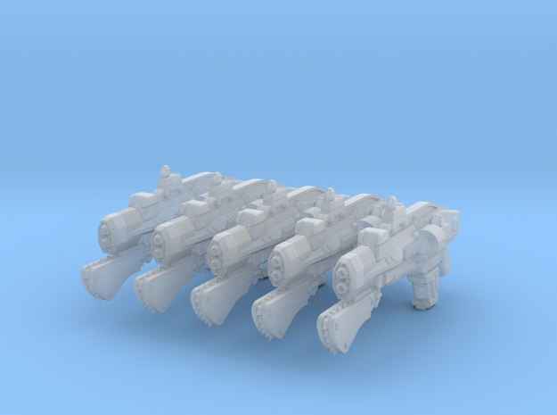 advanced thermal laser rifle 002a chain 3d printed