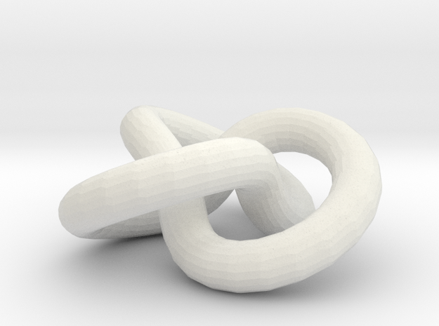 trifoldKnot 3d printed