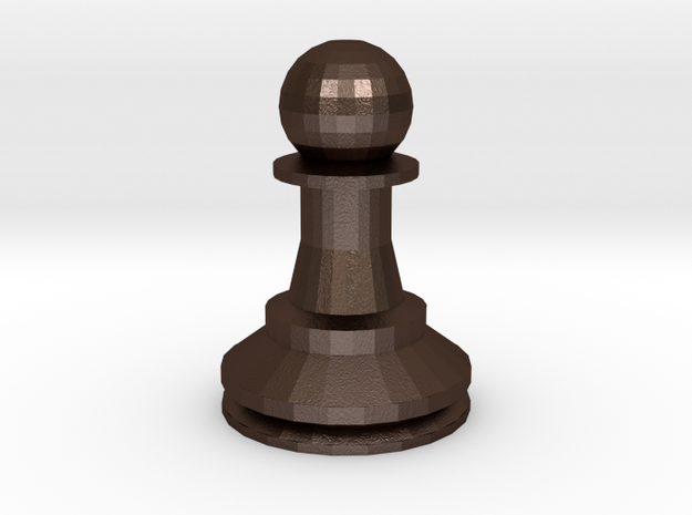 Large Staunton Pawn Chesspiece 3d printed