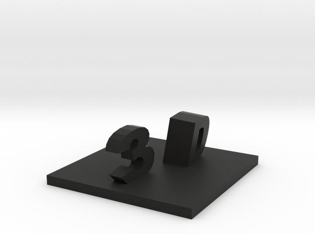 3D 3d printed