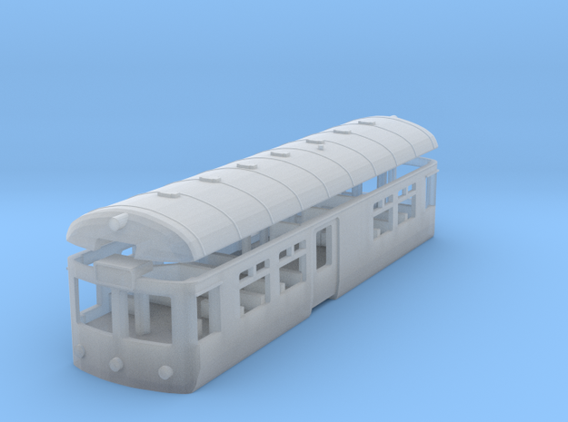 Wickham Railbus with Interior (N) in Smooth Fine Detail Plastic
