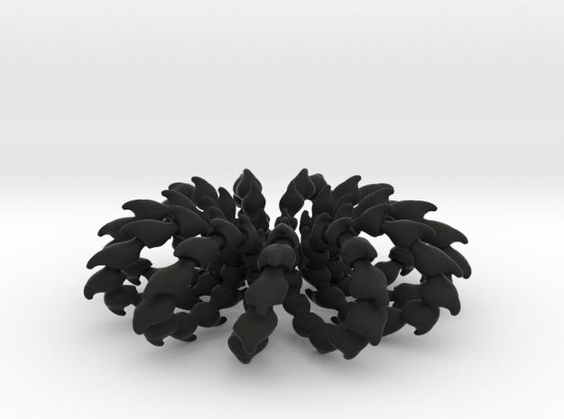 Wave Ring - 4cm 3d printed