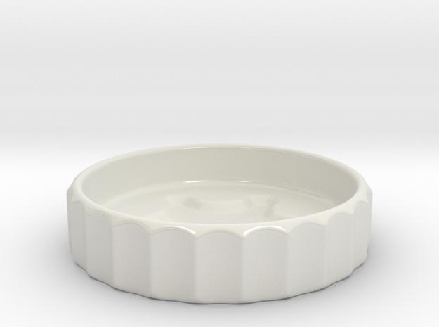 Snowflake dish 3d printed