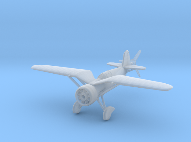1/144 PZL P24 3d printed
