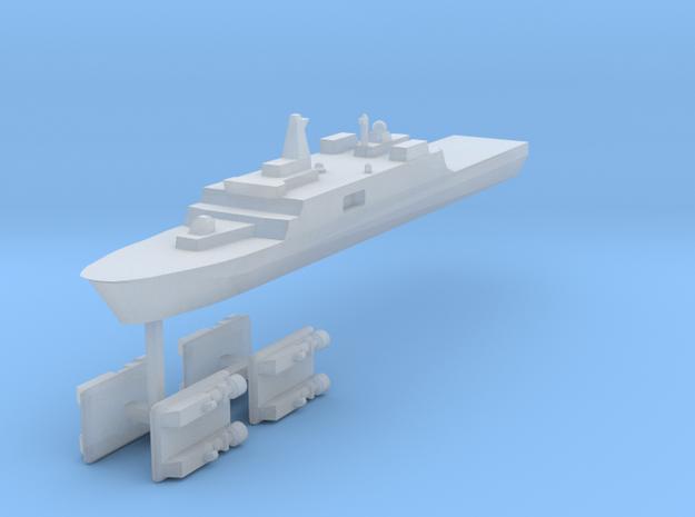 071 PLAN Amphibious Dock V2 + LCACs 1:3000 x1 3d printed