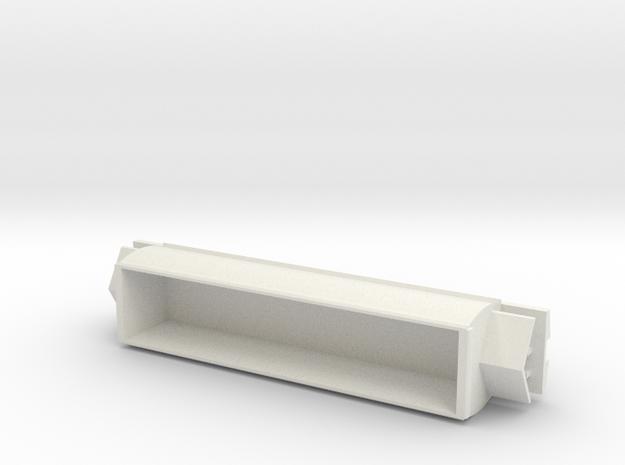 CB-3 Coal Wagon, New Zealand, (N Scale, 1:160) in White Natural Versatile Plastic