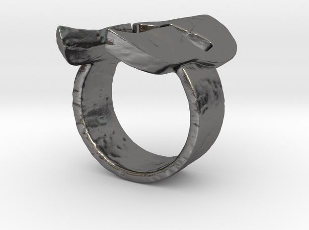 Spartan Helmet Ring 3d printed