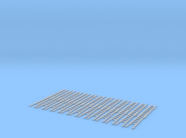 Steckleiter Teil B Holz 2fach Set in Smooth Fine Detail Plastic