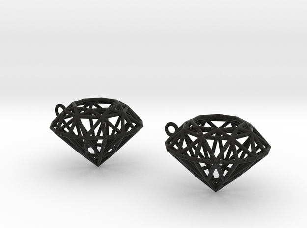 Rock Star Diamond Pendant 3d printed