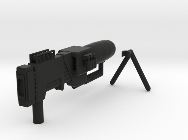 Electron Assault Rifle (with stand) for Transforme 3d printed