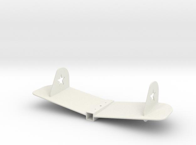 71639B STL in White Natural Versatile Plastic