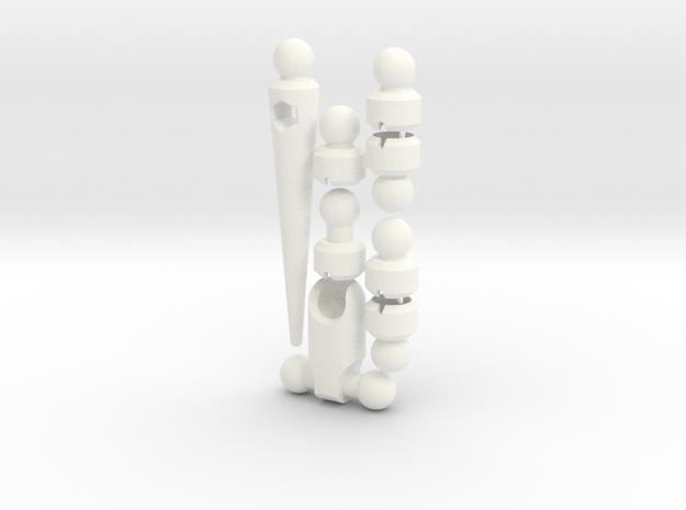 ModiBot Lizard Tail Set 3d printed