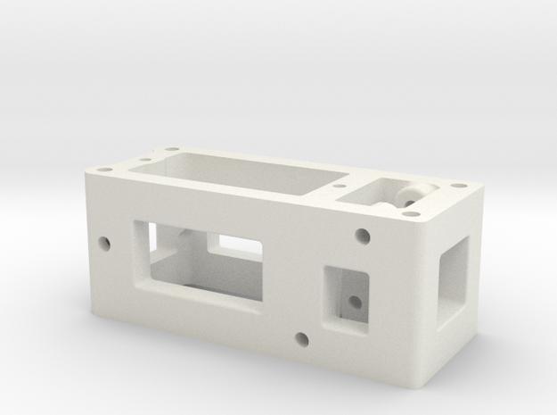 BP8_OS &V2 Servo Carrier in White Natural Versatile Plastic