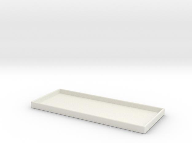 Igniter Tray v2 in White Natural Versatile Plastic