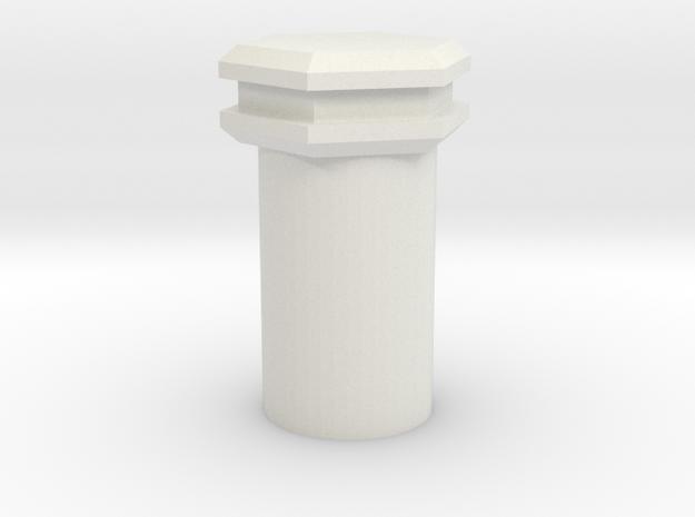 Unique 2 1 mm Kill Key in White Natural Versatile Plastic