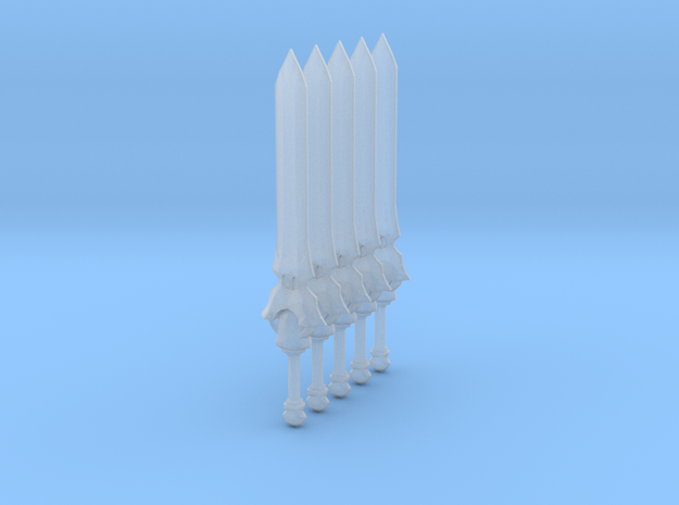 Sword 11 (fantasy great sword) 3d printed