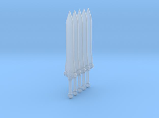 Sword 13 (fleur de lis) 3d printed
