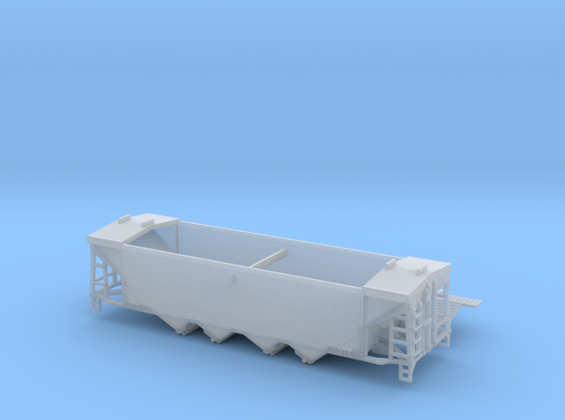 TT Scale U10 Original Style Roof with Roofwalk  in Frosted Ultra Detail